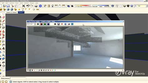 tutorial sketchup vray lighting v ray for sketchup interior illumination tutorial