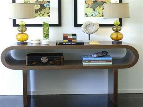 how to decorate a sofa table how to decorate modern console table home interior design