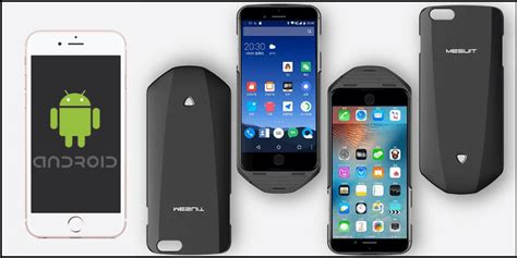 turn android into iphone mesuit the cover that turns your iphone into android