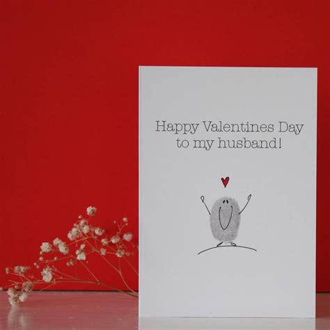valentines day for husband husband valentines day card by adam regester design