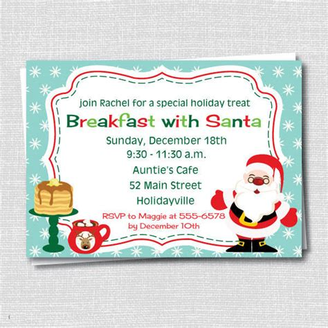 templates for breakfast invitations 6 holiday breakfast invitations jpg vector eps ai