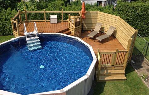 patio piscine deck piscine hors terre recherche ext 233 rieur