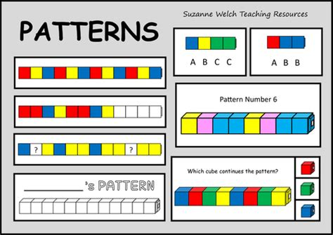 pattern activities early years early years maths for early years teaching resources