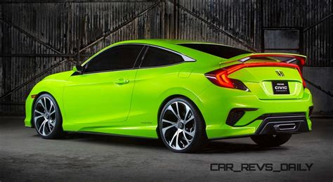 future honda civic honda civic coupe concept