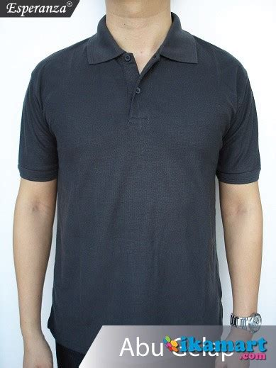 kaos polo polos harga grosir baju pria