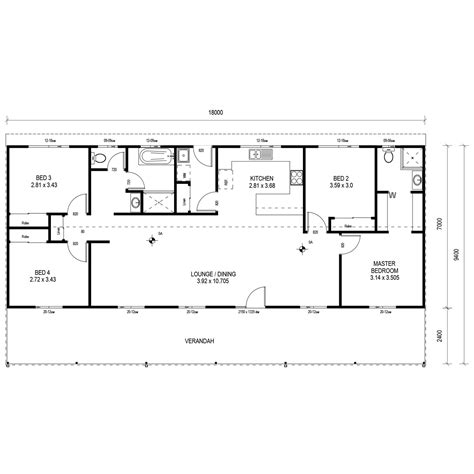 kit home floor plans aussie retreat kit home sheds n homes