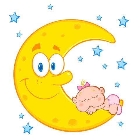 imagenes animadas luna imagenes infantiles de luna vinilo infantil bebe durmiendo