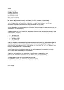 covering letter for cv template cv and cover letter templates