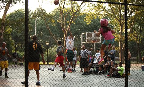 One Day Blind Playground Basketball Is Dead Hardly