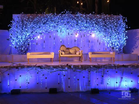 decorating the backyard outdoor wedding stage decorations homemade party design