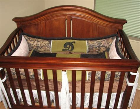 Whistle Stop Mossy Oak Camo 4 Piece Crib Set The Frog Mossy Oak Crib Bedding