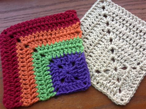 mitered crochet square the sparkly toad