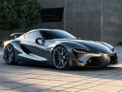 Toyota Sport Cars New Version Of The Toyota Ft 1 Sports Car Concept Unveiled