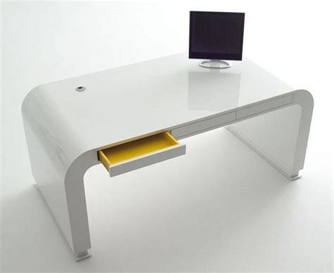 simple white home office furniture ideas  home decors