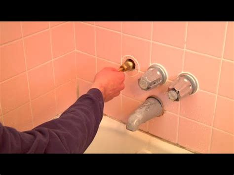 fixing a dripping bathtub faucet how to fix a leaking bathtub faucet quick and easy