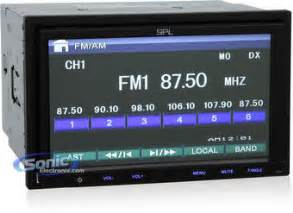 Mp3 Player Mit Touchscreen 762 by Spl Sd 762 7 Quot Dvd Mp3 Usb Touchscreen Car Receiver W Sd