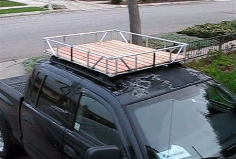How To Build Roof Rack by No Weld Truck Roof Rack