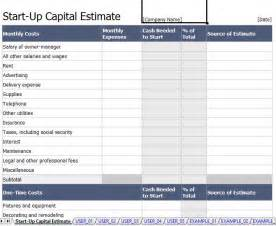 Budget Expenditure Template Capital Expenditure Request And Justification Form Excel