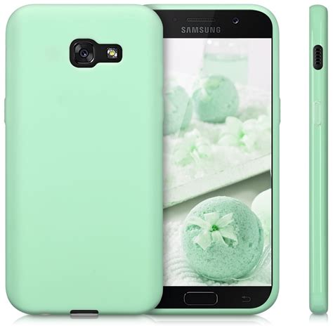 Soft Jelly Samsung Galaxy A5 2017 Silicon Silikon Softcase Casi kwmobile tpu silicone cover for samsung galaxy a5 2017