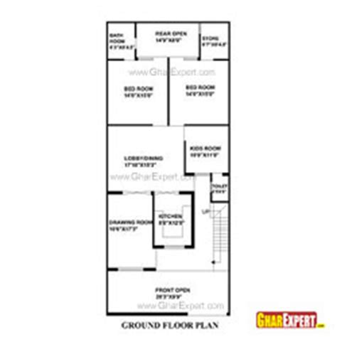house plan for 15 by 60 plot plot size 100 square yards architectural plans naksha commercial and residential