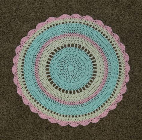 crochet area rug crochet nursery rug playroom rug area rug nursery decor