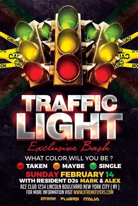 Traffic Light Flyer Template Xtremeflyers Lights Flyer Template