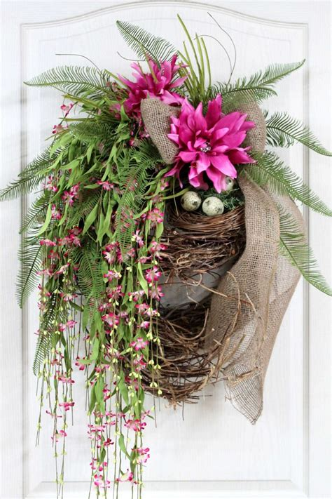 Summer Front Door Wreaths 504 Best Images About A Door Able Wreath Ideas On Fall Door Purple Wreath And Front