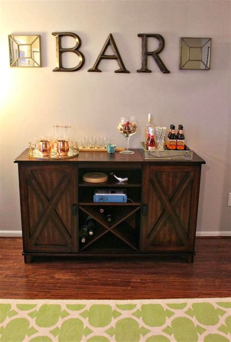 home bar decor ideas  pinterest bar