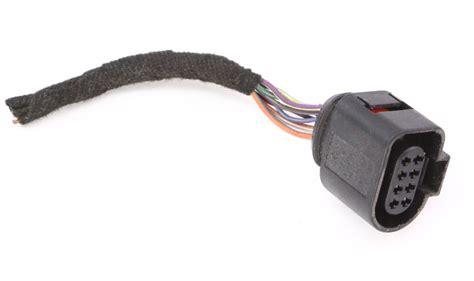 rh door latch plug pigtail connector vw jetta golf mk beetle passat