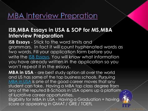Is An Ms Better Than An Mba by Sop For Mba In Usa