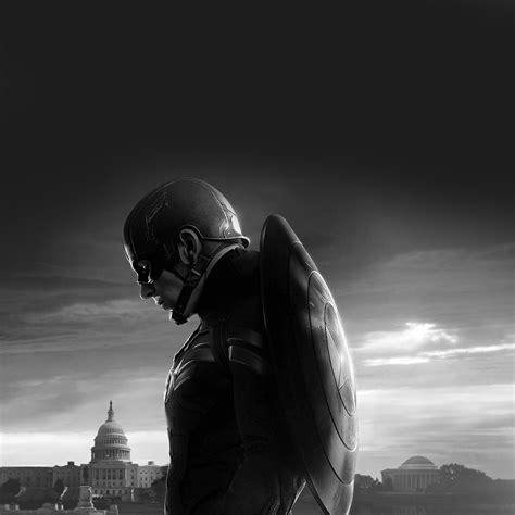 captain america dark wallpaper an85 captain america sad hero film marvel dark bw