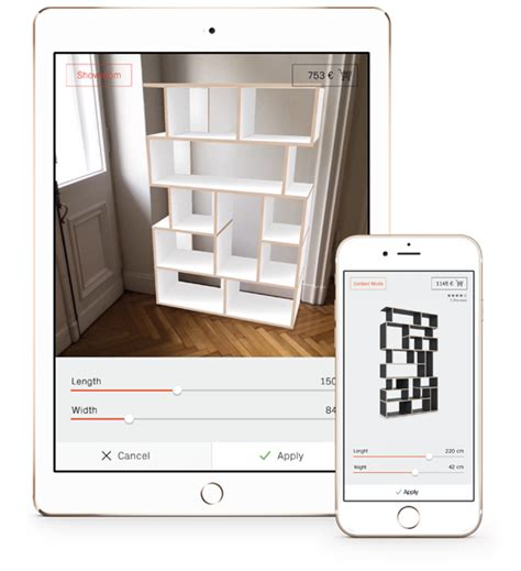 furniture layout app die tylko app konfiguriere m 246 bel mit augmented reality