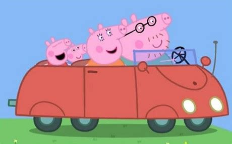 draw peppa pig car