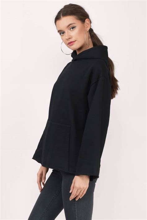 Hoodie Fallen 2 Hitamsweater oversized sweaters oversized cardigans and sweatshirts
