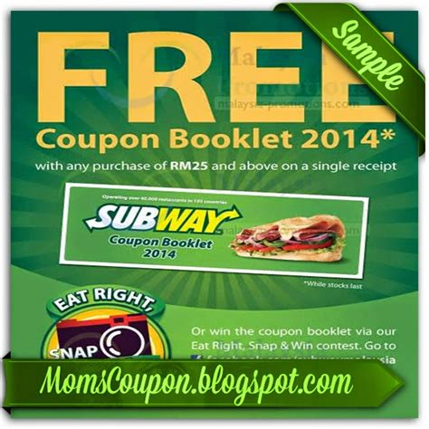 printable subway coupons illinois more ways to get coupons for subway free printable
