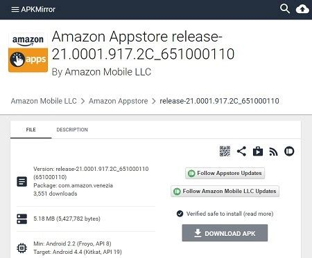 amazon appstore apk how to install amazon appstore on android