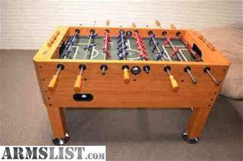 armslist for sale trade harvard foosball table