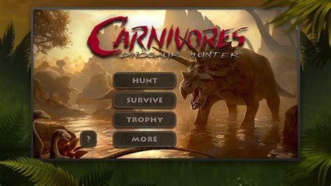 carnivores dinosaur hd apk carnivores dinosaur hd unlocked android apk mods