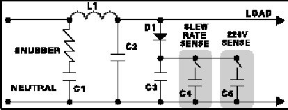 surge protection circuit diagram how brickwall surge protectors work