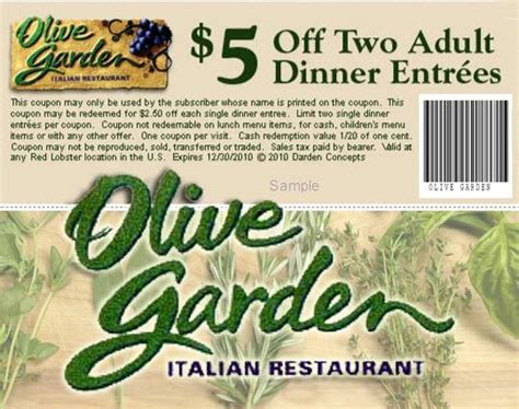 printable olive garden coupons dec 2014 olive garden coupons get off printable within inspirations