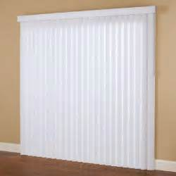 Blinds Tilt Mechanism Hampton Bay Smooth White 3 5 In Pvc Vertical Blind 66