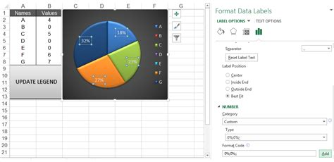 excel format zero percent as blank do my excel blog how to hide the zero percent labels in
