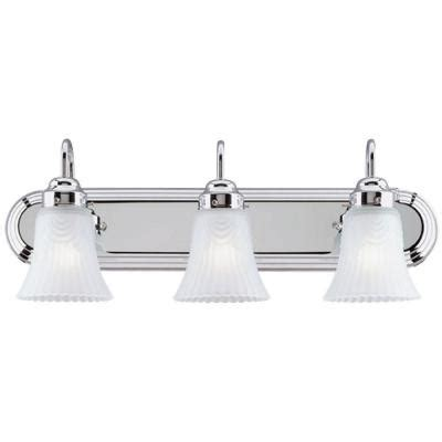 westinghouse 1 light chrome interior wall fixture 6640200