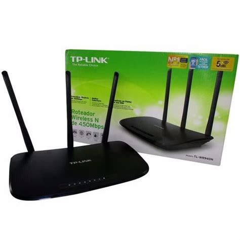 Sale Tp Link Tl Wr 940n 450 Mbps Wireless N Router roteador tp link tl wr 940n wifi 3 antena 450mbps r 129