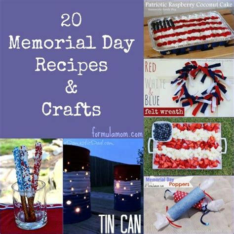 memorial day crafts memorial day crafts and recipe on