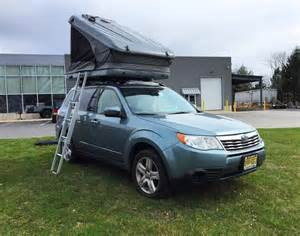 Subaru Forester Tent Subaru Forester Rooftop Tent Rooftop Tent Living Combo