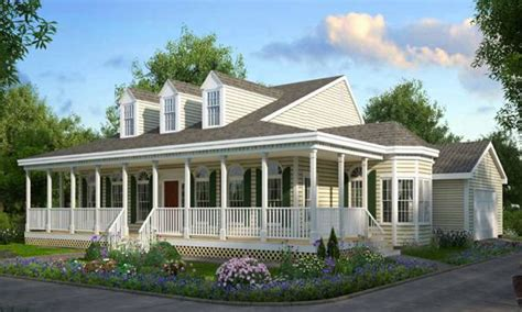 Farmhouse Plans With Front Porch by Best One Story House Plans One Story House Plans With