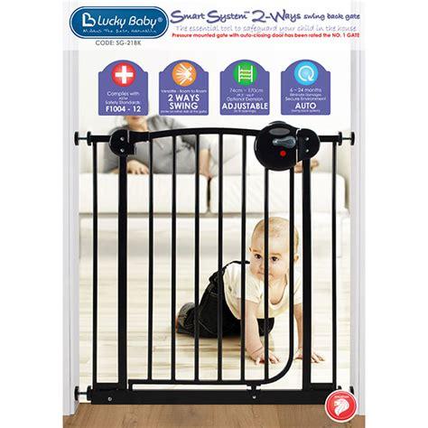 Lucky Baby Smart Extension For Sg 03 Swing Back Gate Sg 18ef lucky baby smart system 2 ways swing back gate black sg 21bk