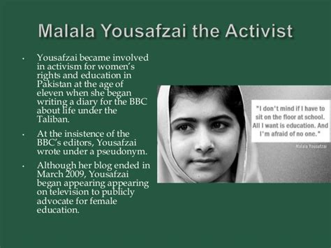 malala yousafzai short biography in english malala yousafzai