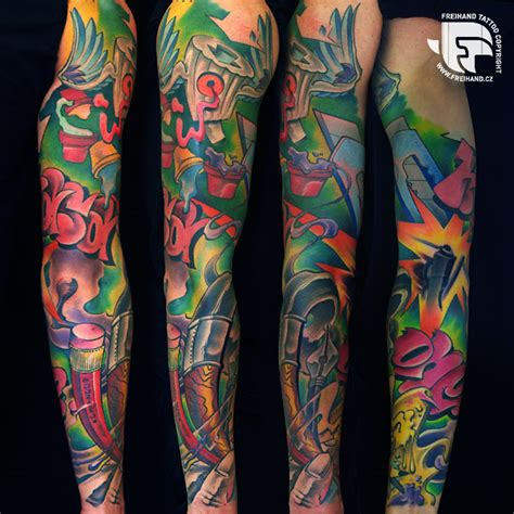 new school tattoo sleeve ideas related keywords suggestions for new school tattoo sleeve